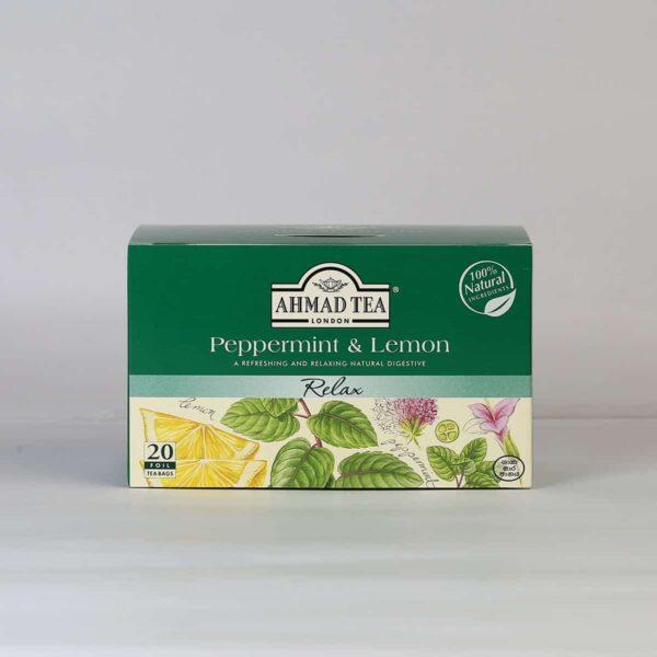 Peppermint & Lemongrass 20 Foil TB