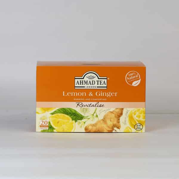 Lemon & Ginger 20 Foil TB