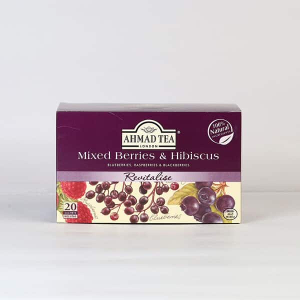 Mixed Berry & Hibiscus 20 Foil TB