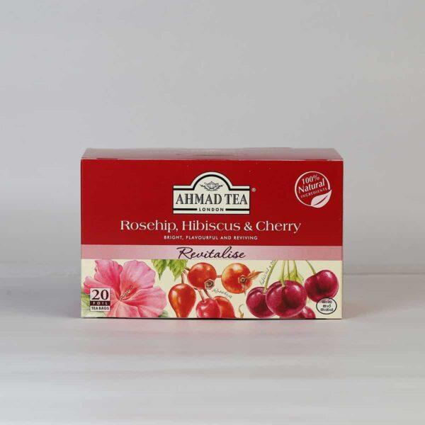Rosehip, Hibiscus & Cherry 20 Foil TB