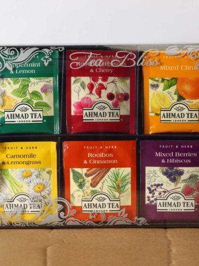 The tea bliss flavored tea pack